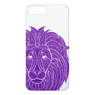 Purple Pride of Lion iPhone 7 Plus Case