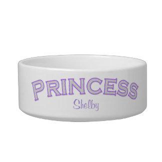Purple Princess Pet Bowl