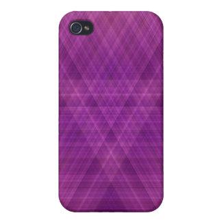 Purple Print iPhone Case 4