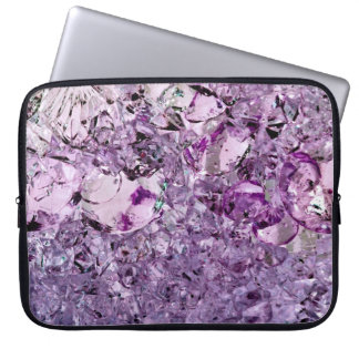 "Purple Prismatic 15"" laptop sleeve"