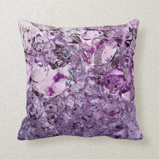 Purple Prismatic 20x20 throw pillow