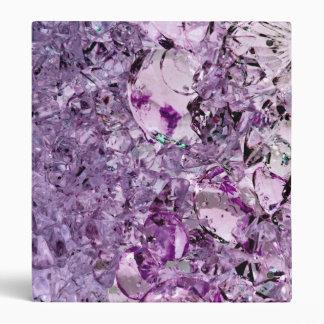 Purple Prismatic binder