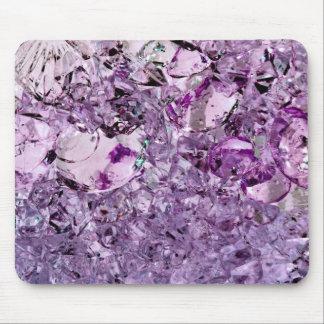 Purple Prismatic Mouse Pad