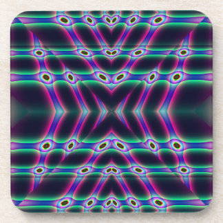 Purple Protectors Beverage Coaster