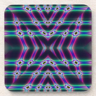 Purple Protectors Beverage Coaster