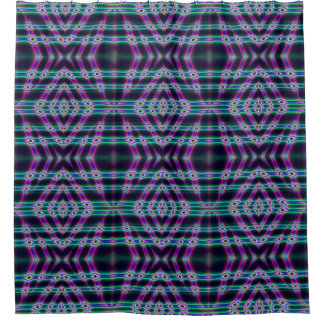 Purple Protectors Shower Curtain
