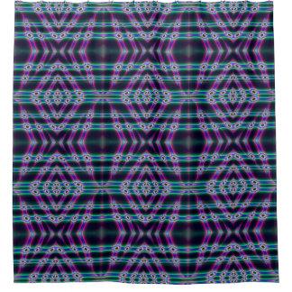 Purple Protectors Shower Curtain