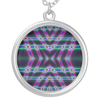 Purple Protectors Silver Plated Necklace