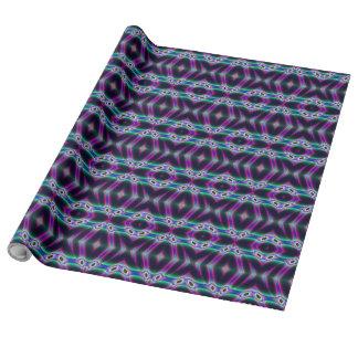 Purple Protectors Gift Wrap Paper