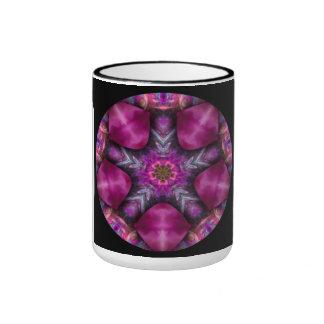 Purple Psychedelic Mandala Coffee Cup Mug