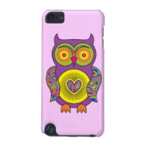 Purple Psychedelic Owl iPod Touch (5th Generation) Case