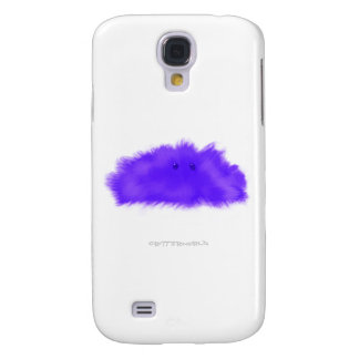 Purple Puffball Critter Galaxy S4 Covers