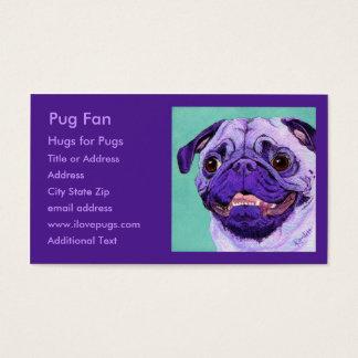 Purple Pug Business Card