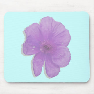 Purple Punch/ PopArt Flower Mouse Pad