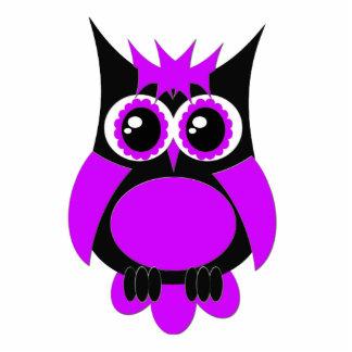 Purple Punk Owl Magnet