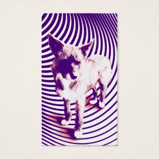 purple pups business card