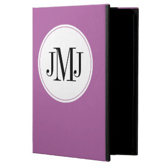 Purple Purple Simple Cover For iPad Air