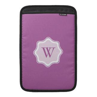 Purple Purple Simple MacBook Air Sleeve