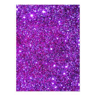 Purple Purple Sparkle Optical Illusion Art Card