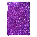 Purple Purple Sparkle Optical Illusion Art iPad Mini Cases