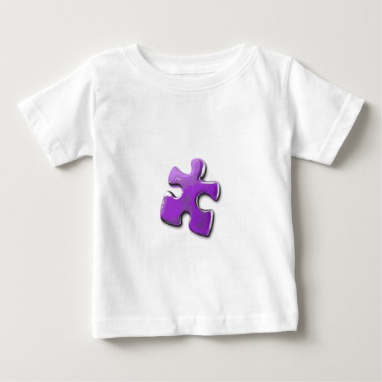 Purple Puzzle! A design also for Autism Awareness Baby T-Shirt