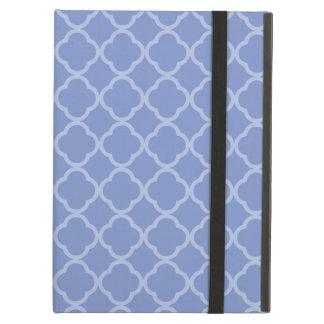 Purple Quatrefoil iPad Air Cases
