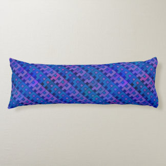 Purple Question Pattern Body Pillow