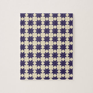 Purple Quilt Pattern Jigsaw Puzzles