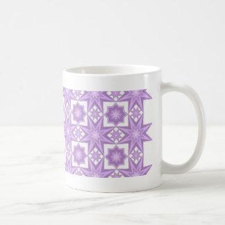 Purple Quilt Pattern Mug