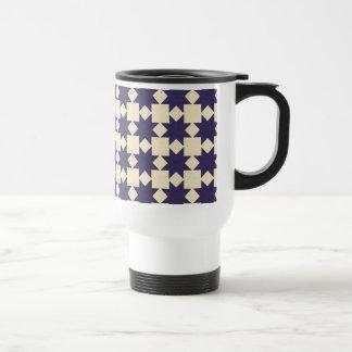 Purple Quilt Pattern Mugs