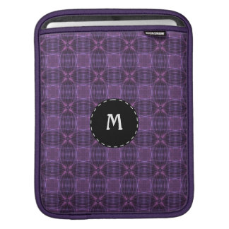 Purple quilt pattern sleeve for iPads