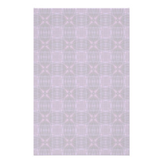 Purple quilt pattern stationery