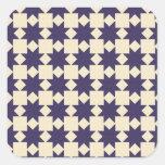 Purple Quilt Pattern Sticker