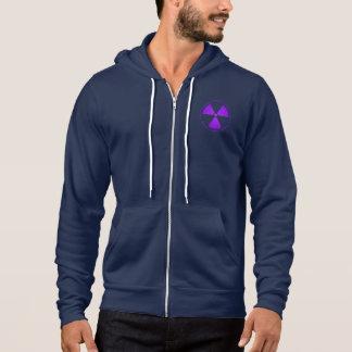 Purple Radiation Warning T-Shirt