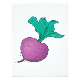purple radish invitation