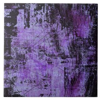 Purple Rage Grunge Tile