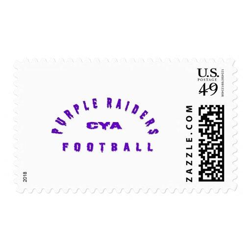 Purple Raiders Gear Postage Stamp