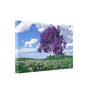 Purple Rain (A Tribute to Prince) Canvas Print