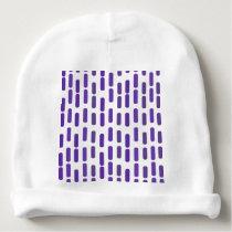 Purple rain baby beanie