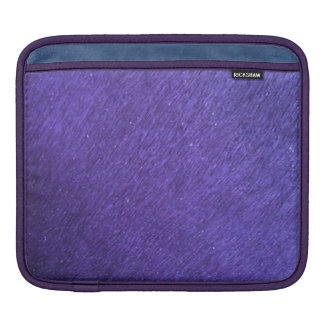 PURPLE RAIN BACKGROUNDS textures colourful beauty iPad Sleeve