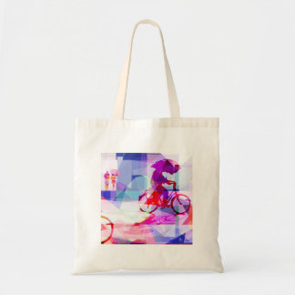 Purple rain, cloth bag