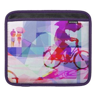 Purple rain, Padded I pad case Fundas Para iPads