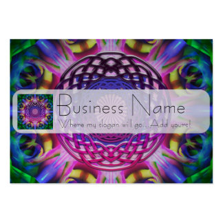 Purple Rainbow Celtic Knot Large Business Cards (Pack Of 100)
