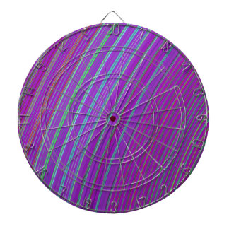 Purple Rainbow Dart Board