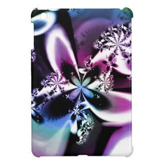 Purple Rainbow Fractal Flower Psychedelic iPad Mini Case