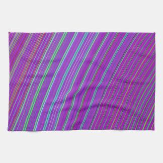 Purple Rainbow Hand Towel