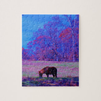 Purple Rainbow Pony Jigsaw Puzzles
