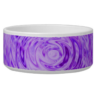 Purple Raindrop pet dish-for your prince of a pet Bowl