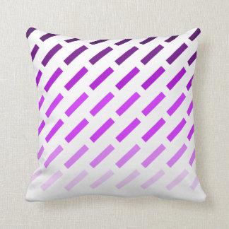 Purple rectangle pillow