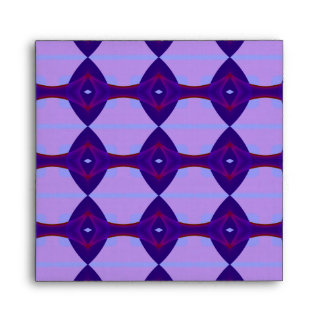 Purple, Red and Pink Pattern Scrapbook Paper Envelope